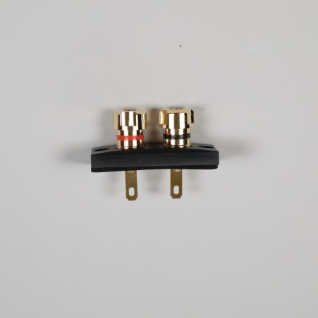 24mm x 55mm Gold Plated Single Terminal Block | WT-5524-G