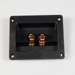 Gold Plated Single Terminal Block 79mm x 92mm | WT-79-92-G