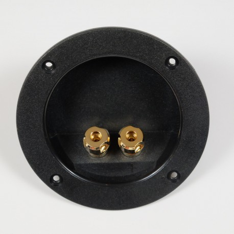 Round terminal block gold plated 105 mm | WT-D105-G
